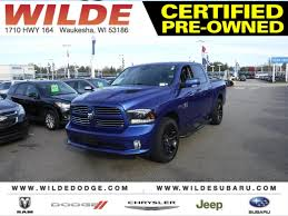 Pre-Owned 2015 Ram 1500 Sport Truck In Waukesha #D23822A | Wilde ...