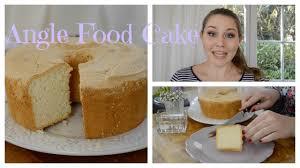 angle food cake kuchen ohne fett rezept glücksküche