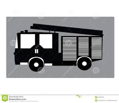 Firetruck Stock Vector. Illustration Of Gray, Vehicle - 49789109