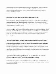 My First Resume Beautiful New Sample Examples Best 57 Lovely Samples For Of