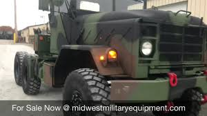 100 Military Semi Truck BMY 5 Ton M931a2 6x6 YouTube