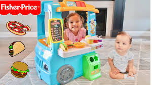 Servin' Up Fun Food Truck Fisher-Price! - YouTube Amazoncom Fisherprice Little People Dump Truck Toys Games Servin Up Fun Food Youtube Power Wheels Ford F150 Will Make You Want To Be A Kid Again Laugh Learn Amazon Kids Buy Thomas The Train Wooden Railway Troublesome Trucks Paw Patrol Fire Battery Powered Rideon Serving Fisher Price Little Wheelies New In Box 1000 Giggling 2pack Fisher Price And Online Friends Adventures