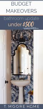 Best Of The Blog: My $500 Powder Room Makeover Reveal - How To Make ... My Budget Friendly Bathroom Makeover Reveal Twelve On Main Ideas A Beautiful Small Remodel The Decoras Jchadesigns Bathroom Mobile Home Ideas Cheap For 20 Makeovers On A Tight Budget Wwwjuliavansincom 47 Guest 88trenddecor Best 25 Pinterest Cabinets 50 Luxury Crunchhecom