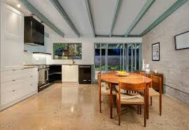 Terrazzo Floors In A Basement Or Kitchen