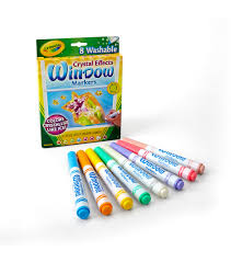 Crayola Bathtub Crayons Refill by Crayola Crystal Effects Washable Window Markers Joann