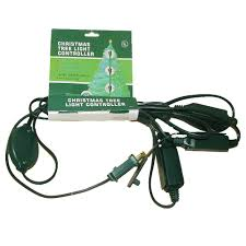 Kurt Adler Christmas Tree Light Controller 12ft Extension Cord W 9 Outlets
