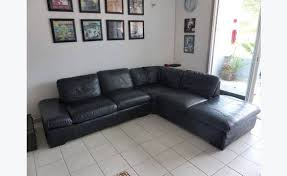 canapé d angle de qualité canapé d angle en cuir pleine fleur de qualité annonce meubles