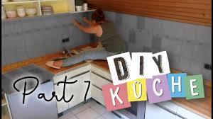 fliesen bekleben diy küche teil 7 diy upcycling