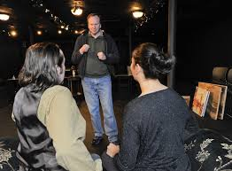 Curtain Call Stamford Shakespeare by Q And A With Stamford Playwright Christopher Ward Stamfordadvocate