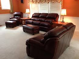 Craigslist Austin Leather Sofa by H U0026m Austin Couchs And Chair In Capri Bordeaux