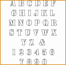 Best solutions Best Printable Stencil Letters Best Best S Free