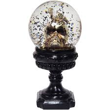 Skull Snowglobe Halloween Decoration Walmartcom