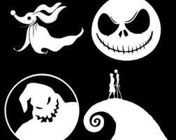 Oogie Boogie Halloween Stencil by Oogie Boogie Decal Etsy
