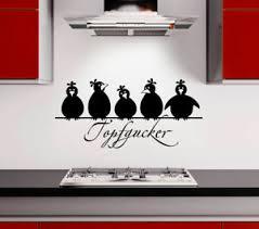 wandsticker wandtattoo küche wandaufkleber spruch topfgucker