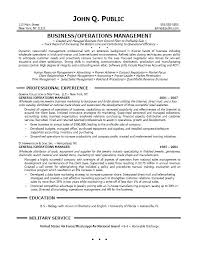 Resume Examples For Plant Manager With Operations Objective Sample