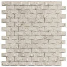 Jeffrey Court Mosaic Tile by Gray Tile Flooring The Home Depot
