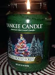 Tree Scented Candles Decor Yankee Candle Christmas Tealight Holder