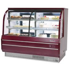 Turbo Air TCGB 72 CO Red Inch Curved Glass Dual Dry Refrigerated