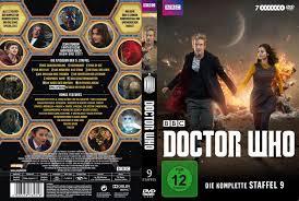 doctor who staffel 9 dvd cover labels 2015 r2 german custom
