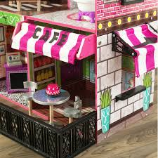 DIY Wood Dollhouse Miniature With LEDFurnitureCover Doll House
