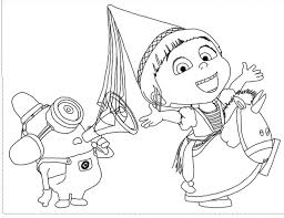 Free Printable Despicable Me Coloring Pages For Kids Color Print 1 Pertaining To