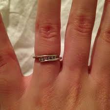 My Ring Was In The Promise Section It Cost 250 And Even That