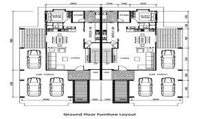 100 Semi Detached House Designs Plans Magnificent Floor