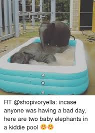 Bad Day Funny And Elephant 00 RT Shopivoryella Incase Anyone Was