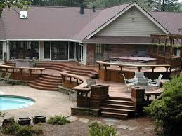 Outdoor Color Modern Multi Level Deck Designs Your Backyard With ... Deck Designs For Mobile Homes Top Pferred Home Design Collection Decks 007 Ideas Elegant Peenmediacom Appealing Porches Uber Decor 18899 Covered Fence Bedroom Porch Aloinfo Aloinfo Front Porch Roofs Over Decks Jerry Miller Contractor Ideasput Up Fore Classic With Photos Cedarlogsidingdeckfullerjpg The Cabin Pinterest Log