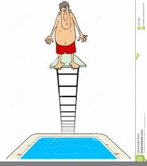 Clipart Swimming Pool Diving Board Image