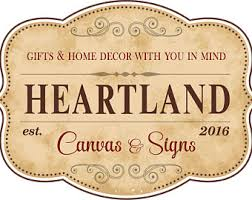 heartland signs by heartlandsigns on etsy