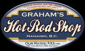 Hot Rod Shop Personalized Garage Sign Personalized Garage
