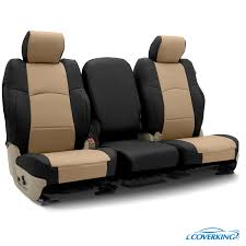 Coverking Premium Leatherette Custom Fit Seat Covers