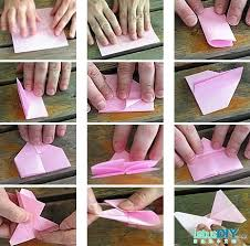 Paper Folding Butterfly LetusDIYORG