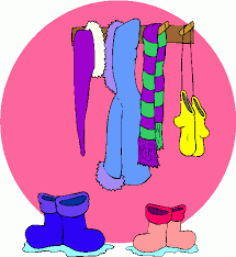 Winter Clothes Clipart 131178