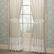 Lace Curtains Panels With Attached Valance by Curtain Lace Curtain Irish Lace Swags And Valances Cafe Lace