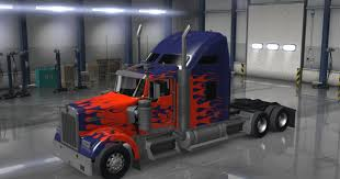 100 Optimus Prime Truck For Sale Kenworth W900 With Paint Job Tractor S S