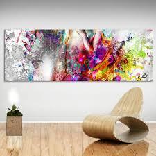 panorama bild frauen körper erotik leinwand abstrakte bilder