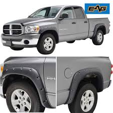 100 2009 Dodge Truck Amazoncom EAG Fender Flares Rivet Style Bolt On Pocket Fit 0208
