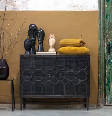 bepurehome vintage kommode bequest sideboard antik schwarz