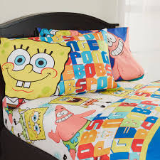 Spongebob Halloween Dvd Walmart by Spongebob Squarepants Sheet Set Walmart Com