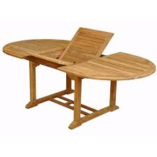 8 Person Outdoor Table by Anderson Teak Bahama Andrew 8 Person Teak Patio Dining Set With