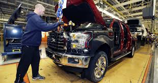 100 Aluminum Ford Truck Starts Production Of New Aluminum F150