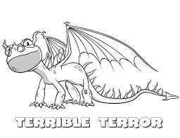 How To Train Your Dragon Little Terrible Terror From