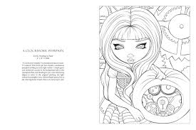 Amazon Jasmine Becket Griffith Halloween Coloring Book A
