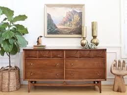 Brasilia Broyhill Premier Dresser by Century Modern Broyhill Brasilia 6 Drawers Dresser No 391