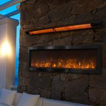 Modern Flames Nova 60 Inch Indoor Outdoor Electric Fireplace With