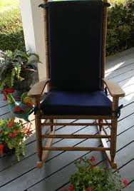 100 The Gripper Twill 2 Pc Rocking Chair Pad Set Cheap Navy Blue Find Navy Blue Deals On