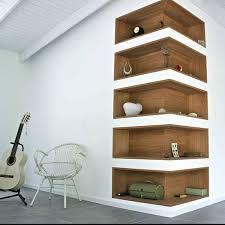 interesting art living room corner shelf living room corner shelf