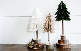 Create These Super Easy And Inexpensive Felt Trees For A Fraction Of The